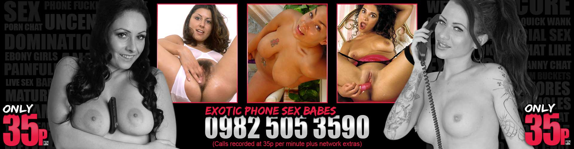 Exotic Phone Sex Girls